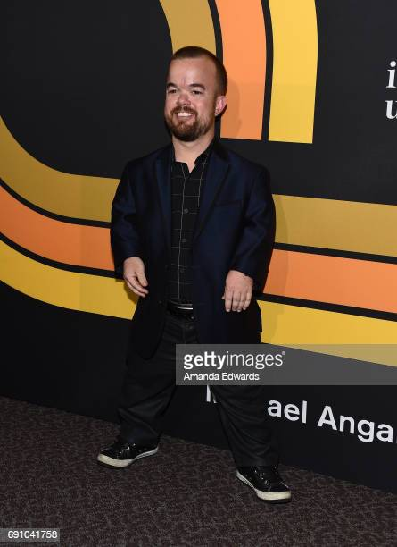 Actor and comedian Brad Williams arrives at the premiere of Showtime's I'm Dying Up Here at the DGA Theater on May 31 2017 in Los Angeles California