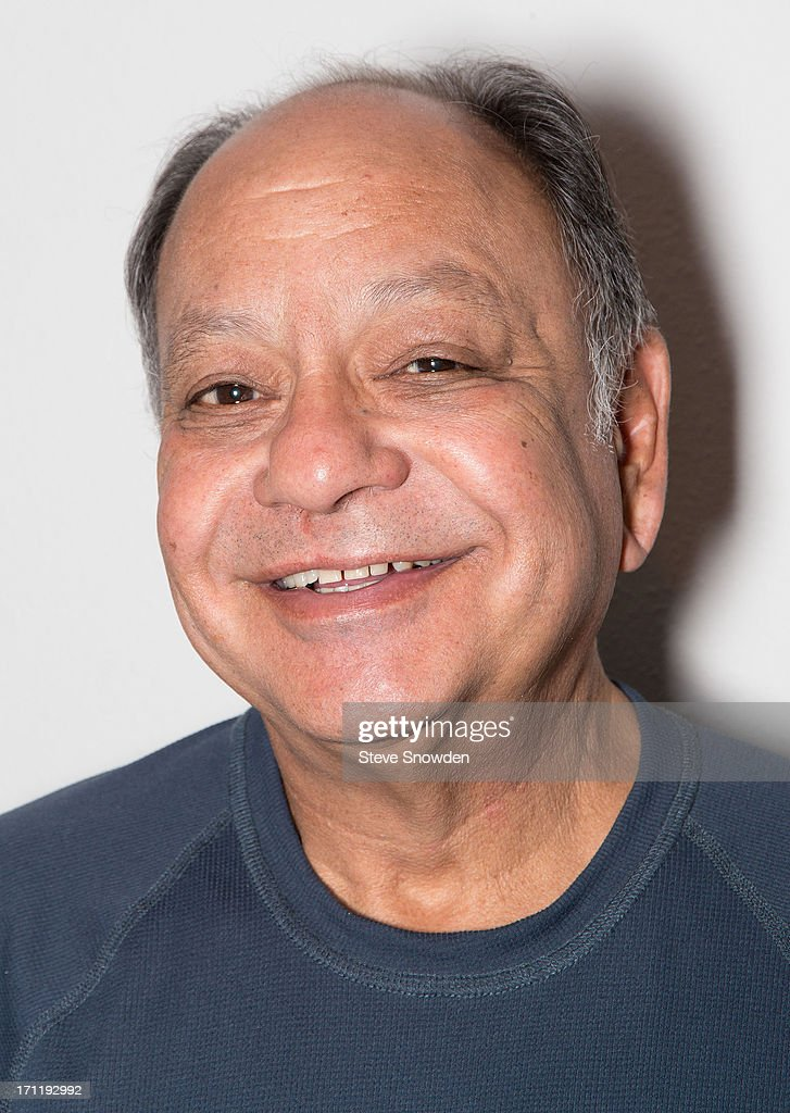 Actor and Comedian Cheech Marin poses backstage before his performance with partner Tommy Chong at Route 66 Casino's Legends Theater on June 22, 2013 in Albuquerque, New Mexico.