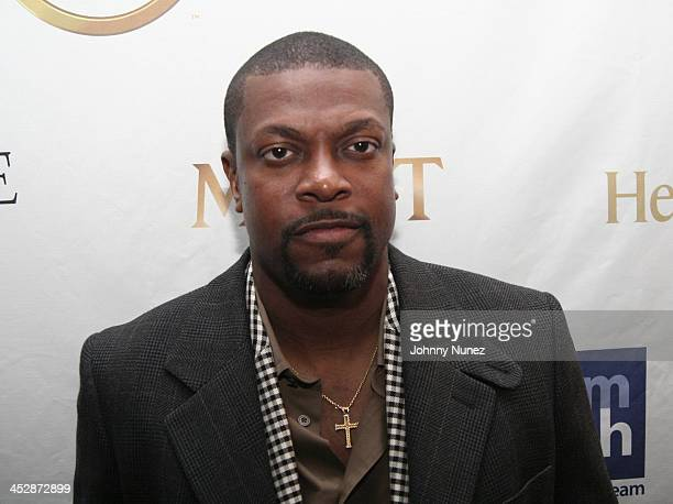 Actor and comedian Chris Tucker attends the Kenny Smith 8th Annual AllStar Bash on February 12 2010 in Dallas Texas