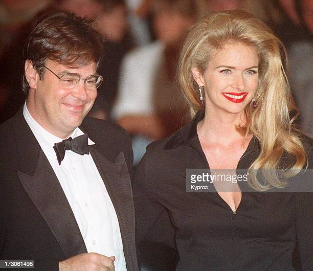 Actor and comedian Dan Aykroyd with his wife Donna Dixon circa 1992