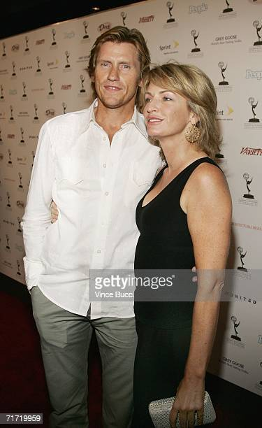 Actor and comedian Denis Leary and wife Ann attend the Academy of Television Arts and Sciences' reception honoring the 58th Annual Primetime Emmy...