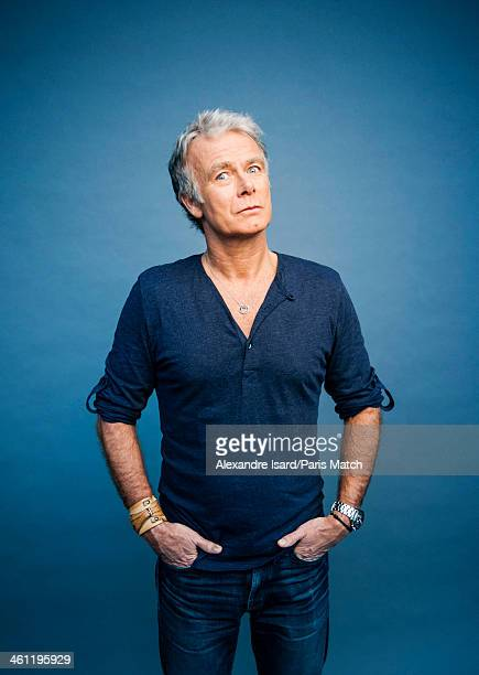 Actor and comedian Franck Dubosc is photographed for Paris Match on December 5 2013 in Paris France