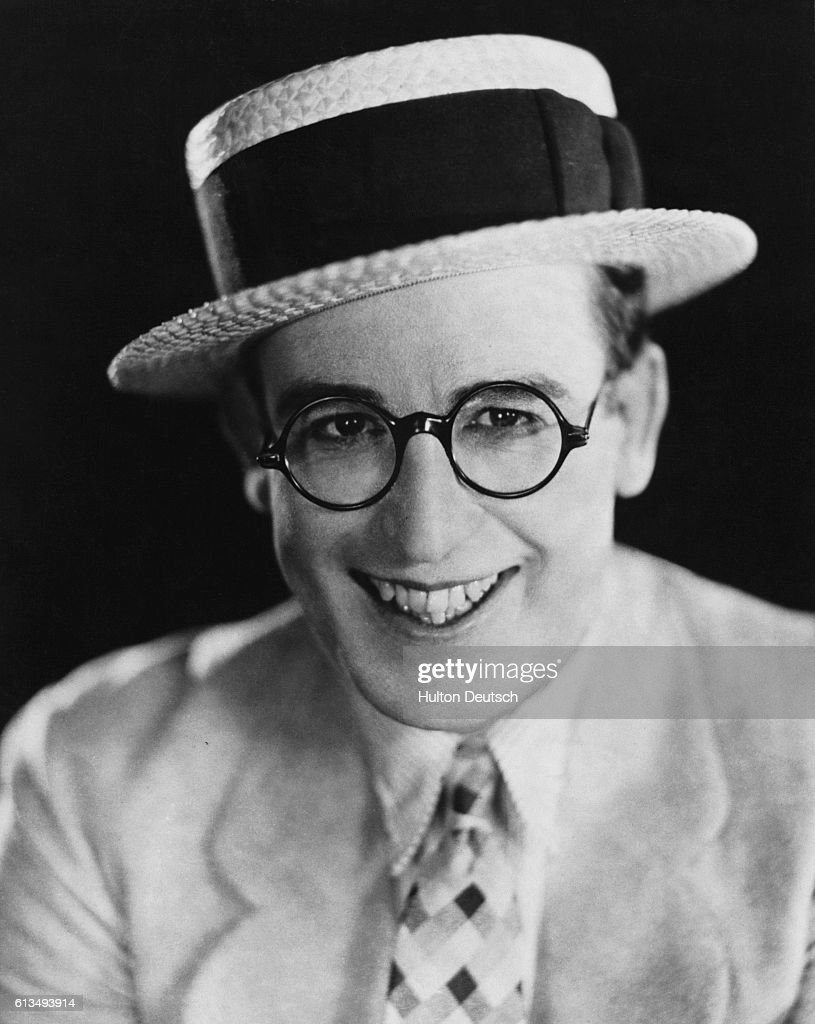 Actor and Comedian Harold Lloyd, ca. 1925