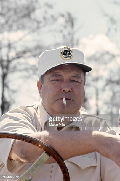 Actor and comedian Jackie Gleason poses for a photo during Jackie Gleason's Inverrary Classic golf tournament in Lauderhill, Florida.