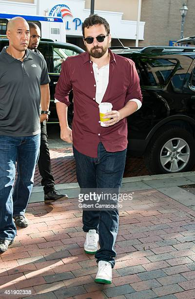 Actor and comedian Jake M Johnson visits Fox 29's 'Good Day' at FOX 29 Studio to promote the movie 'Let's Be Cops' on July 9 2014 in Philadelphia...
