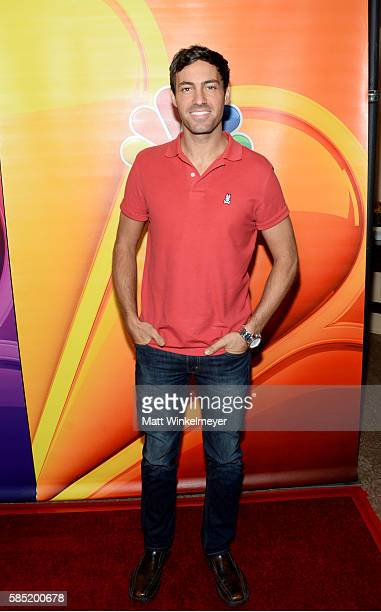 Actor and comedian Jeff Dye attends the NBCUniversal press day during the 2016 Summer TCA Tour at The Beverly Hilton Hotel on August 2 2016 in...