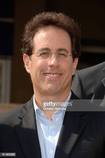 Actor and comedian Jerry Seinfeld attends a photocall for reality tv series 'The Marriage Ref' at Palais des Festivals during MIPCOM on October 5,...