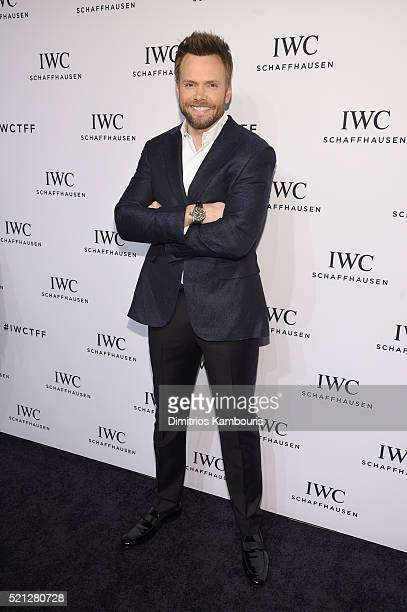 """Actor and comedian Joel McHale attends the exclusive gala event """"For the Love of Cinema"""" during the Tribeca Film Festival hosted by luxury watch..."""