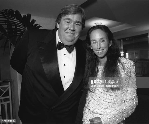 Actor and comedian John Candy with Sharon Monsky Founder of the Scleroderma Research Foundation at the 4th annual Scleroderma Research foundation...