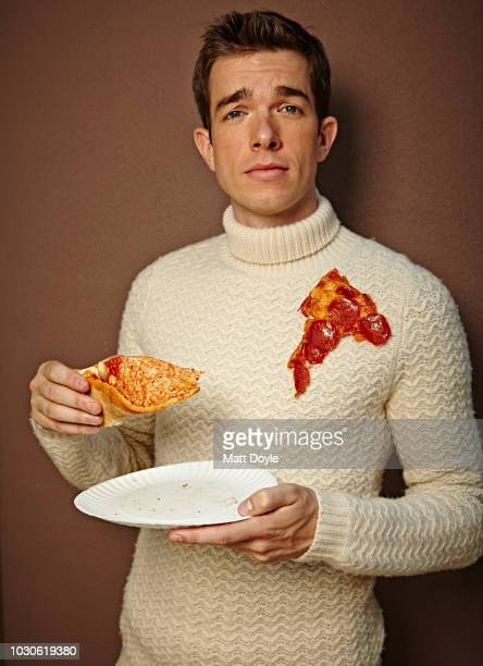 Actor and comedian John Mulaney is photographed for Sharp Magazine on June 20 in New York City