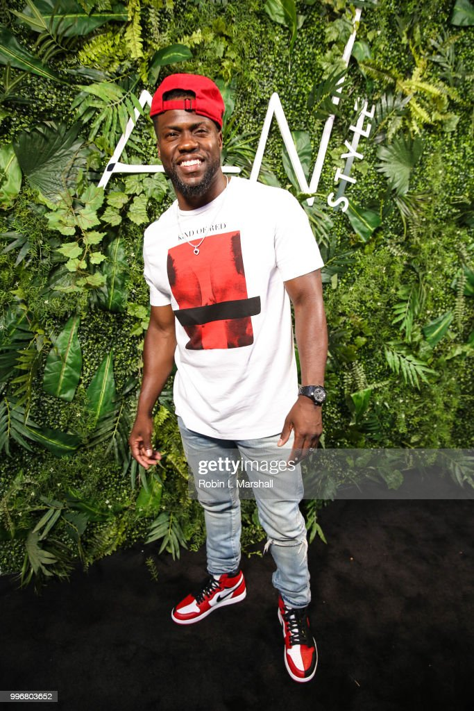 Actor and Comedian Kevin Hart attends Ashley North's Launch of 'AN STYLE' Candles at IceLink Boutique and Rooftop Lounge on July 11, 2018 in West Hollywood, California.
