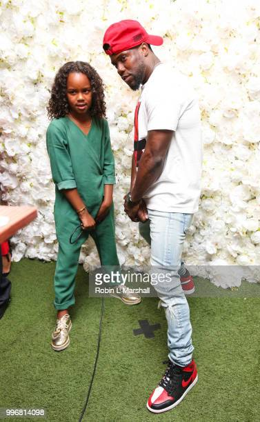 Actor and comedian Kevin Hart attends Ashley North's Launch of 'AN STYLE' Candles at IceLink Boutique and Rooftop Lounge on July 11 2018 in West...