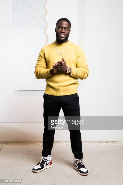 Actor and comedian Kevin Hart poses during a photo shoot in Sydney, New South Wales.