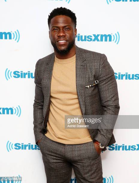 Actor and comedian Kevin Hart visits the SiriusXM studios on January 9 2019 in New York City