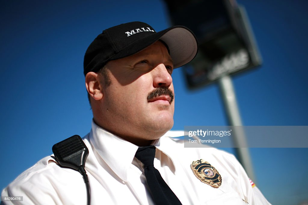 WORTH, TX JANUARY 14 - Actor and comedian Kevin James waits to race NASCAR stock cars with his Segway to promote the release of his new movie, 'Paul Blart: Mall Cop' at Texas Motor Speedway in Fort Worth, Texas.