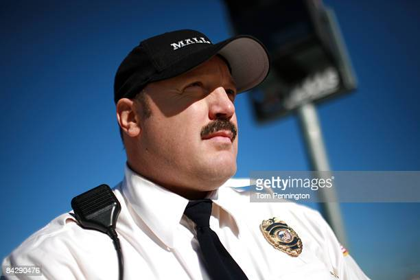 WORTH TX JANUARY 14 Actor and comedian Kevin James waits to race NASCAR stock cars with his Segway to promote the release of his new movie Paul Blart...