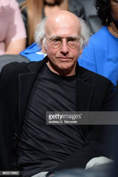 Actor and Comedian Larry David attends the Phoenix Suns game against the LA Clippers on October 21 2017 at STAPLES Center in Los Angeles California...