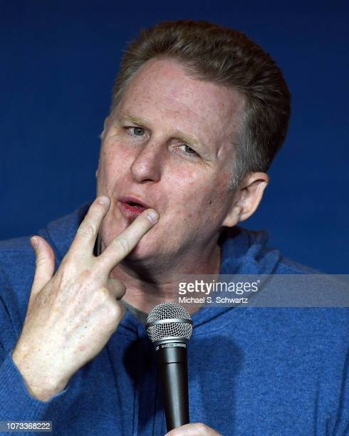 Actor and comedian Michael Rappaport performs during his appearance at The Ice House Comedy Club on December 14 2018 in Pasadena California