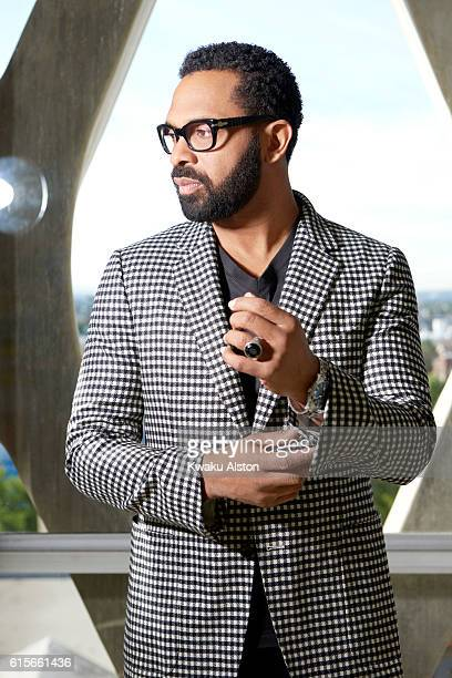 Actor and comedian Mike Epps is photographed for Essence Magazine on November 1 2015 in Los Angeles California