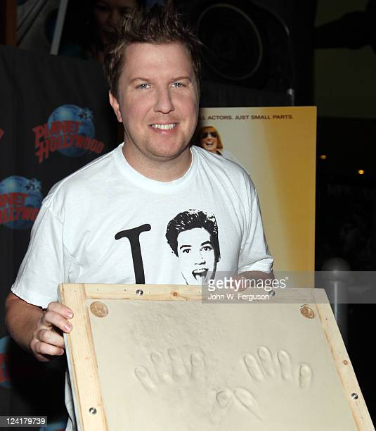 Actor and comedian Nick Swardson visits Planet Hollywood Times Square on September 8 2011 in New York City