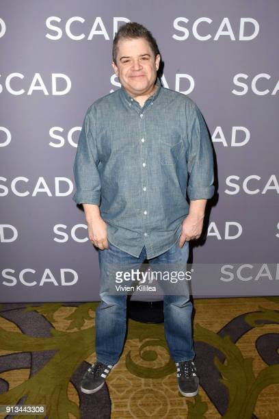 Actor and comedian Patton Oswalt attends a press junket for 'AP Bio' on Day 2 of the SCAD aTVfest 2018 on February 2 2018 in Atlanta Georgia