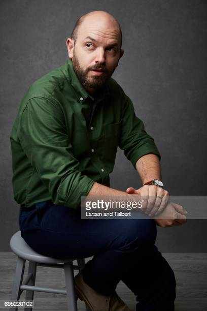 Actor and comedian Paul Scheer is photographed for Entertainment Weekly Magazine on June 11 2017 in Austin Texas