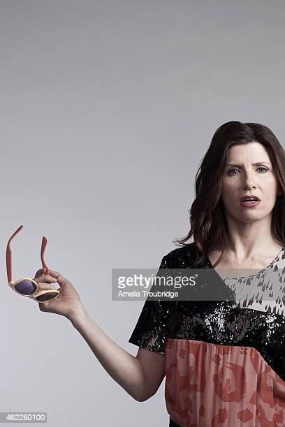 Actor and comedian Sharon Horgan is photographed for ES magazine on March 15 2012 in London England