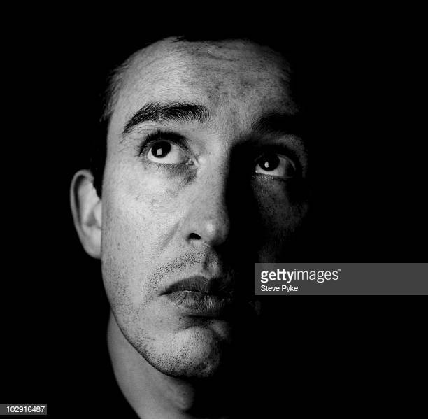 Actor and comedian Steve Coogan poses for a portrait shoot in London UK