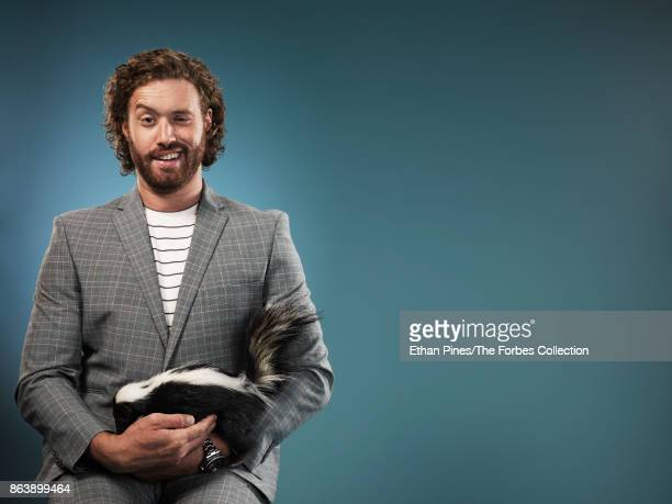 Actor and comedian TJ Miller is photographed for Forbes Magazine on May 25 2017 in Los Angeles California PUBLISHED IMAGE CREDIT MUST READ Ethan...