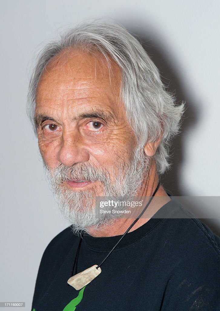 Actor and Comedian Tommy Chong poses backstage before his performance with partner Cheech Marin at Route 66 Casino's Legends Theater on June 22, 2013 in Albuquerque, New Mexico.