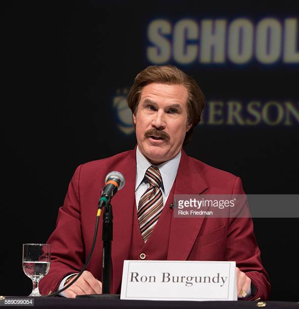 personality analasys of ron burgundy Mr saunders you might not see much of mr saunders in the man who was  almost a man, but he's a pretty big deal not ron burgundy big, but still all jokes .