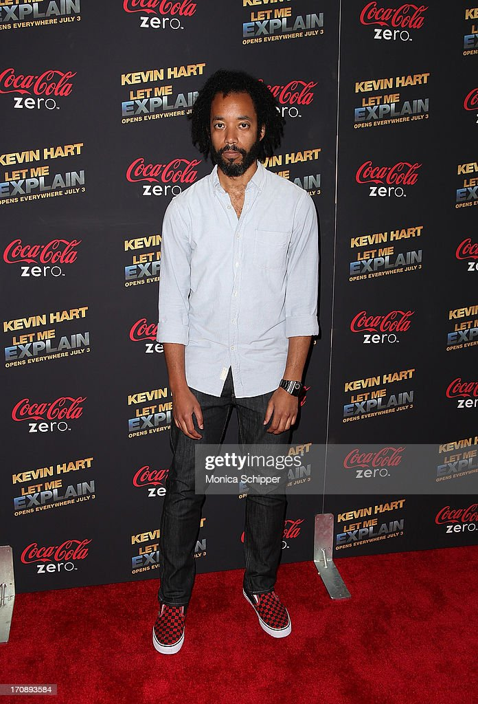 Actor and comedian Wyatt Cenac attends the 'Kevin Hart:Let Me Explain' premiere at Regal Cinemas Union Square on June 19, 2013 in New York City.