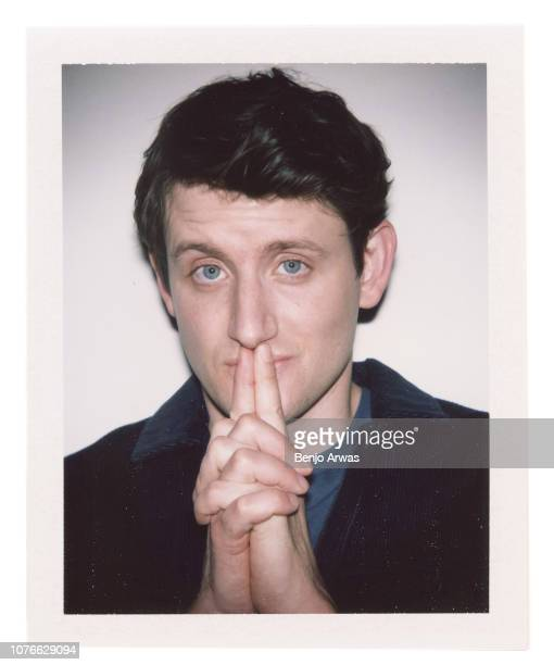 Actor and comedian Zach Woods is photographed for The Wrap on April 5 2018 in Los Angeles California