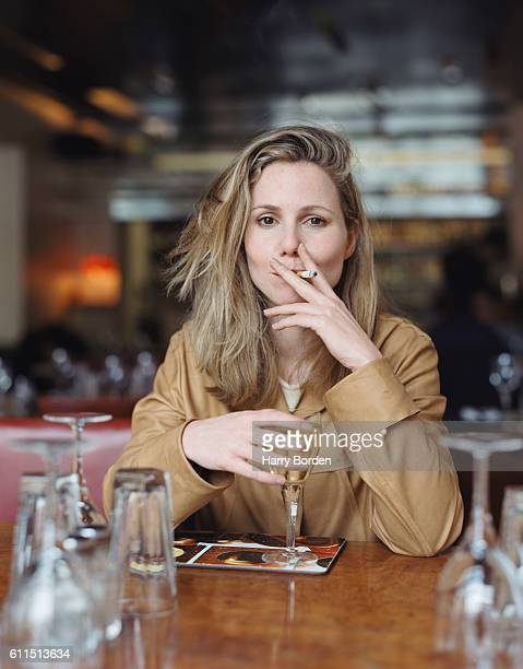 Actor and comic Sally Phillips is photographed for Arena magazine on March 1, 2001 in London, England.