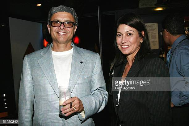 Actor and Creative Coalition Co-President Joe Pantoliano and Caroline Hirsch attend the 2004 Congressional Spotlight Award presentation to U.S....