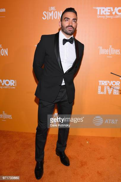 Actor and Deaf Activist Nyle DiMarco attends The Trevor Project TrevorLIVE NYC at Cipriani Wall Street on June 11 2018 in New York City