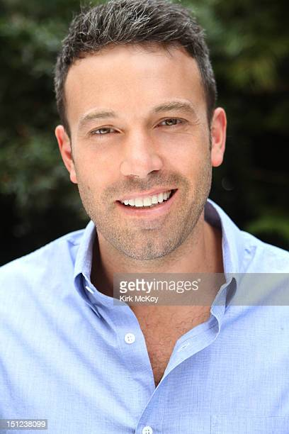 Actor and director Ben Affleck is photographed for the Los Angeles Times on August 17 2012 in Los Angeles California PUBLISHED IMAGE NEEDS...