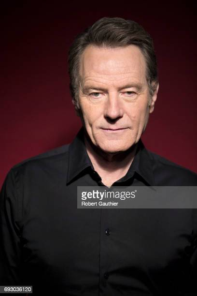 Actor and director Bryan Cranston of Amazon's 'Sneaky Pete' is photographed for Los Angeles Times on April 14 2017 in Los Angeles California...