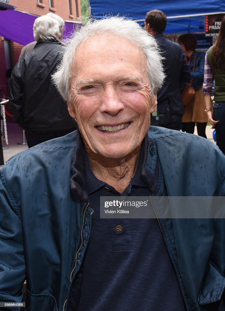 Actor and director Clint Eastwood attends the Telluride Film Festival 2016 on September 3, 2016 in Telluride, Colorado.