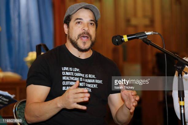 Actor and director Cory Bowles attends Listen and Learn at Kingston Road United Church on December 8 2019 in Toronto Canada