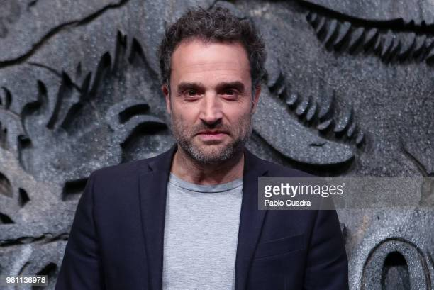 Actor and director Daniel Guzman attends the 'Jurassic World Fallen Kindom' premiere at WiZink Center on May 21 2018 in Madrid Spain
