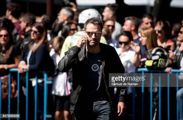 Actor and director Daniel Guzman during the Funeral Tribute For Angel Nieto in Madrid on September 16 2017 in Madrid Spain