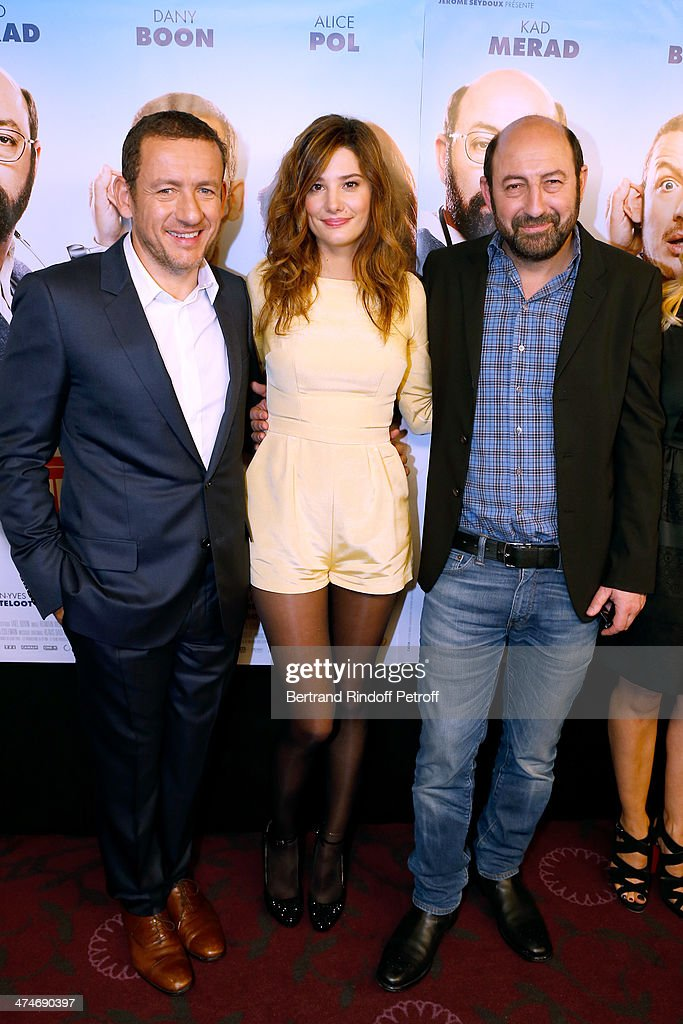 'Supercondriaque' Paris Premiere At Gaumont Opera Capucines