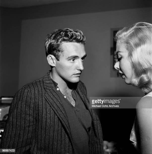 Actor and director Dennis Hopper attends a Paramount Pictures party on September 23 1957 in Los Angeles California