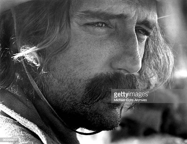 Actor and director Dennis Hopper in a scene from his movie 'Easy Rider' in 1969