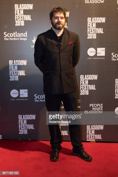 Actor and director Felipe Bustos Sierra attends the World Premiere of 'Nae Pasaran' and closing gala of the 14th Glasgow Film Festival at Glasgow...