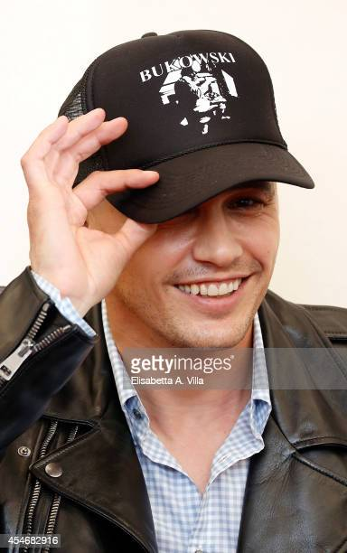 Actor and director James Franco attends 'The Sound And The Fury' Photocall during the 71st Venice Film Festival on September 5 2014 in Venice Italy