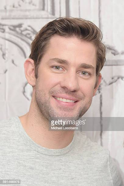 Actor and Director John Krasinski attends the AOL Build presentation of the cast of 'The Hollars' at AOL HQ on August 17 2016 in New York City