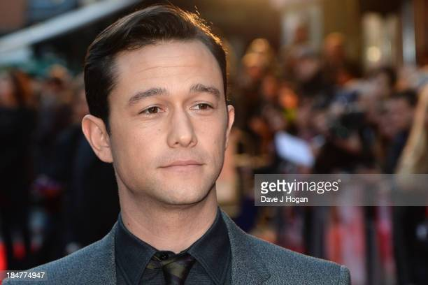 Actor and director Joseph GordonLevitt attends a screening of Don Jon during the 57th BFI London Film Festival at Odeon West End on October 16 2013...