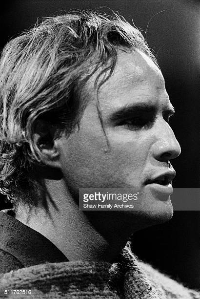 Actor and director Marlon Brando circa 1959 during the filming of 'OneEyed Jacks' in Los Angeles California